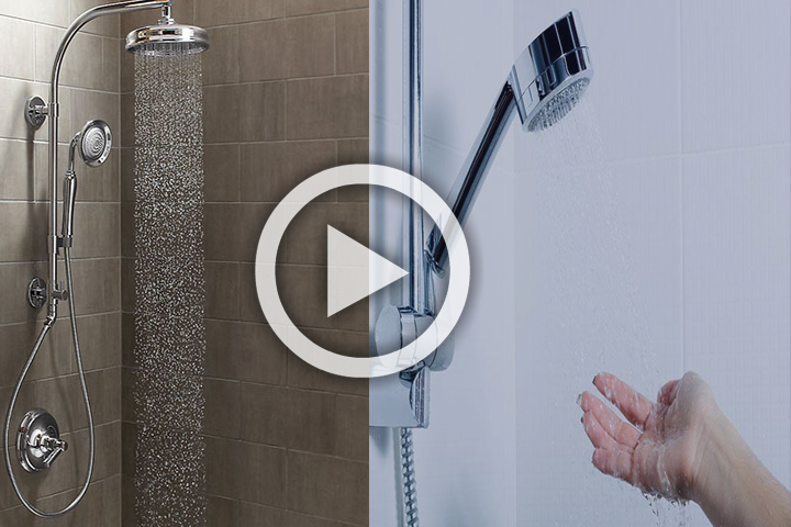 shower filter features
